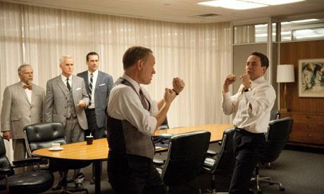 Mad Men boardroom fist fight